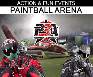 Paintball Arena - Flyer