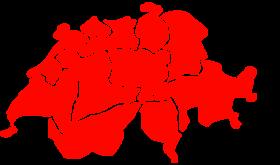 Schweizer Karte für Polterabend Ideen